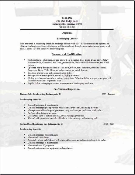 landscaping resume occupational examples samples free edit with word horticulture Resume Horticulture Resume Template