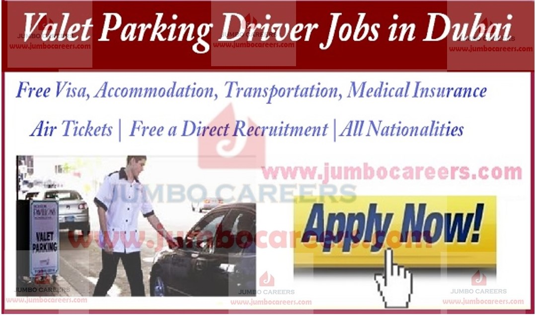 latest valet parking jobs in dubai with free visa accommodation and air ticket job Resume Valet Parking Job Description For Resume