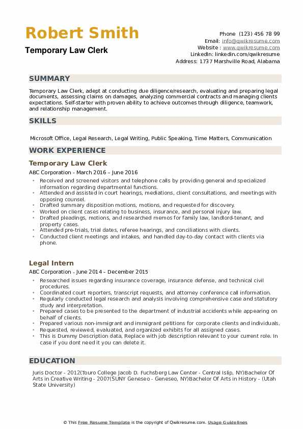 law clerk resume samples qwikresume judicial sample pdf substitute teacher physician Resume Judicial Law Clerk Resume Sample