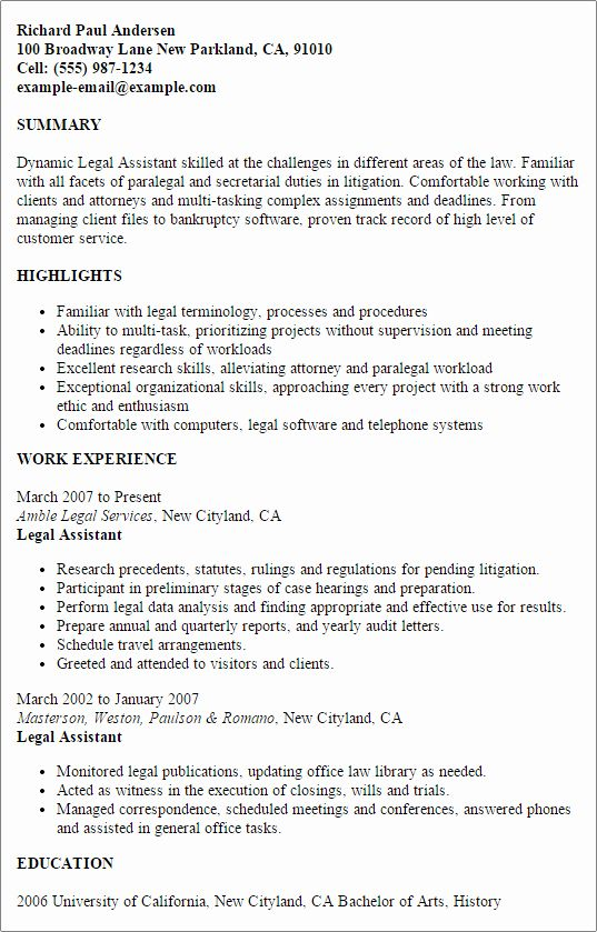 legal assistant job description resume awesome template best design tips examples good Resume Strong Work Ethic Resume