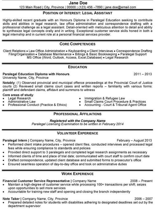 legal assistant resume sample template for paralegal sstudent software engineer projects Resume Sample Resume For Legal Assistant Paralegal