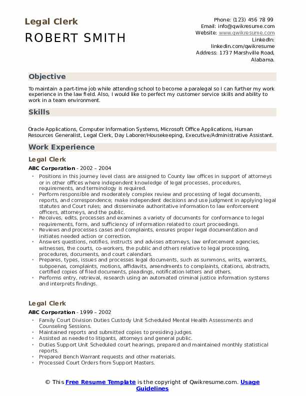legal clerk resume samples qwikresume judicial law sample pdf aldi application quality Resume Judicial Law Clerk Resume Sample