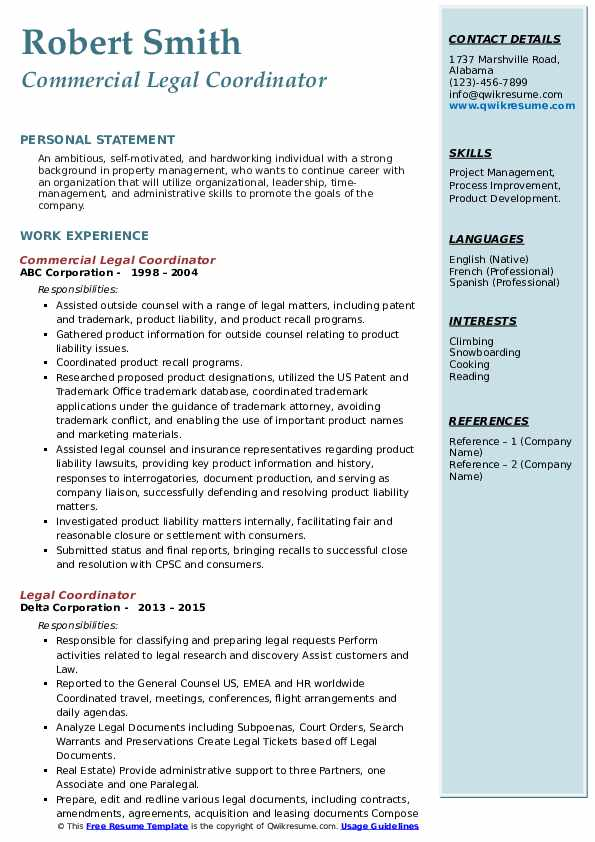 legal coordinator resume samples qwikresume pdf cinema strong skills for lying about Resume Legal Coordinator Resume