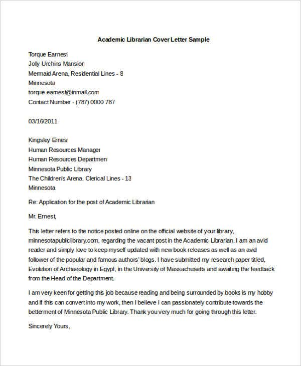 librarian cover letters free sample example format premium templates best resume and Resume Best Resume And Cover Letter Books