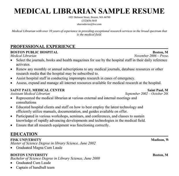 librarian resume writing tips sample objective examples etiquette recent grad template Resume Librarian Resume Examples