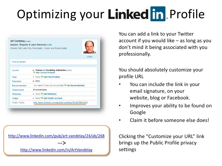linkedin profile resume example best examples short url for using to build your Resume Short Linkedin Url For Resume