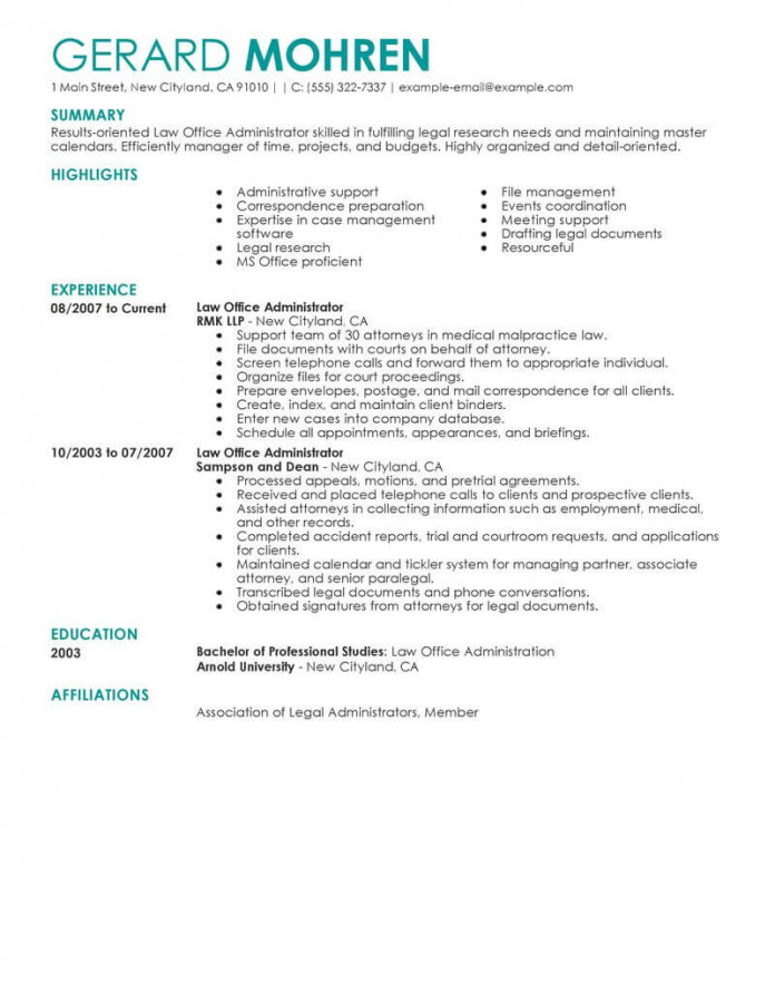 livecareer resume templates template builder example free best office administrator Resume Livecareer Free Resume Templates