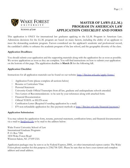 ll program in law application checklist and forms school candidate resume llm best Resume Law School Candidate Resume