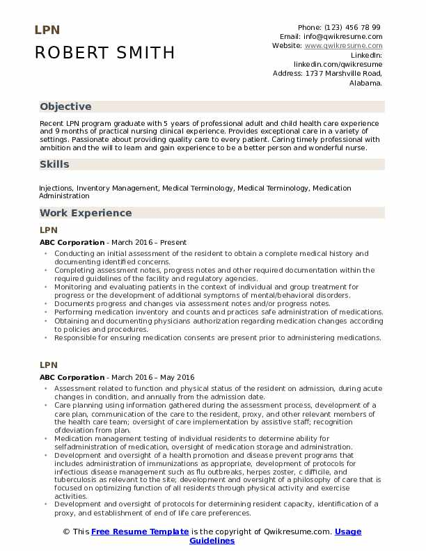 lpn resume samples qwikresume recent graduate pdf outline education examples for quality Resume Recent Lpn Graduate Resume