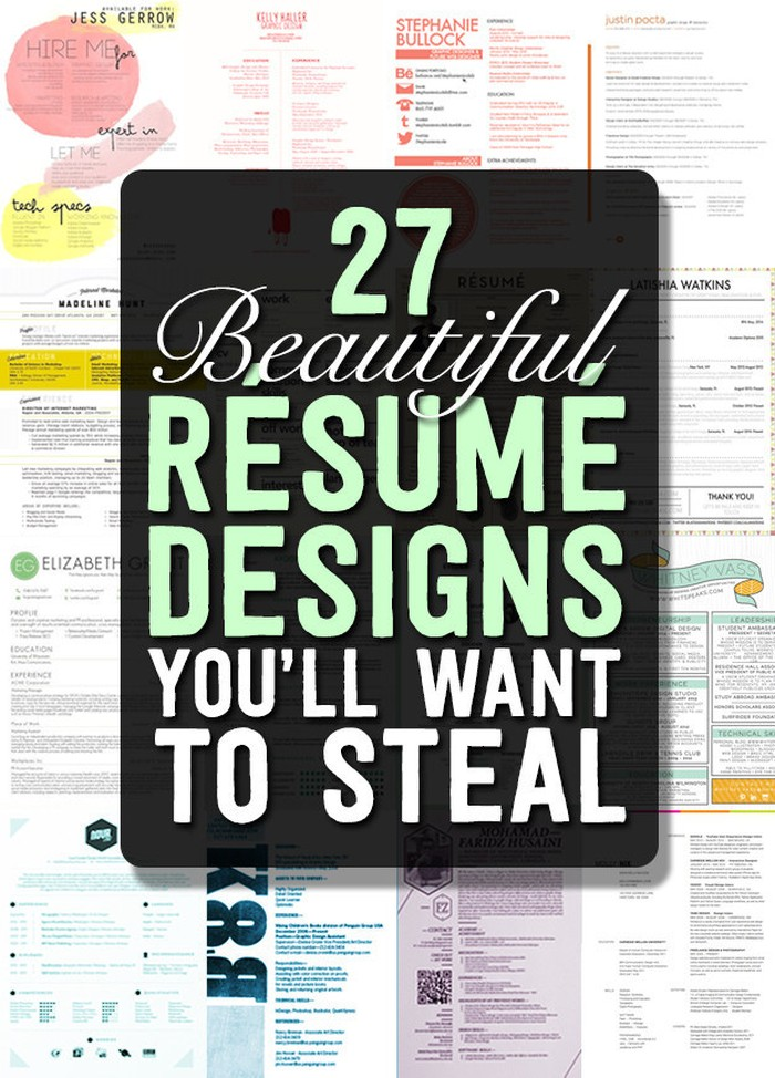 magnificent cv designs that outshine all the others seenox fun resume templates free new Resume Fun Resume Templates Free