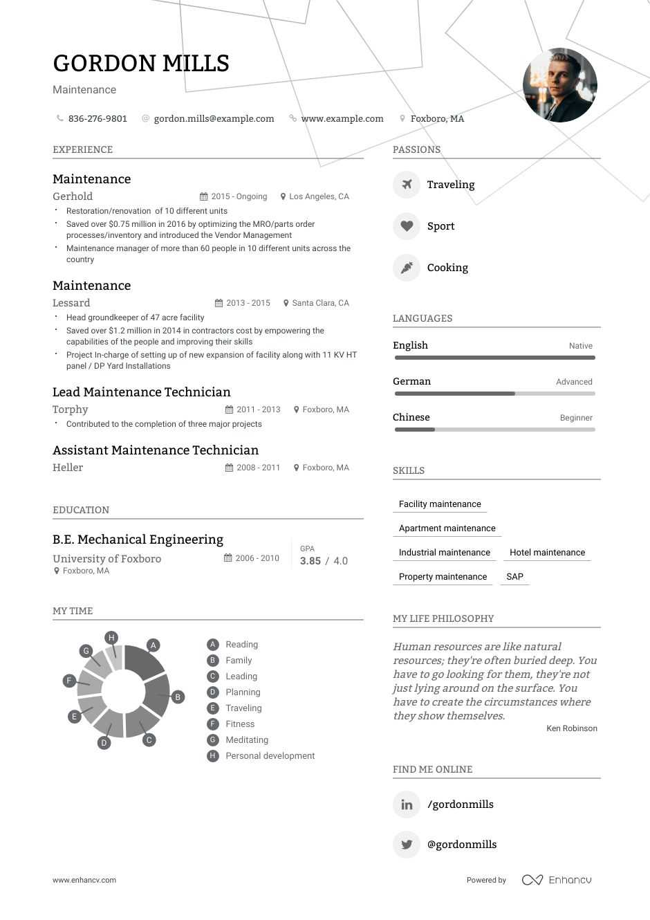 maintenance resume examples do and don ts for enhancv barista objective statement post Resume Maintenance Resume Examples