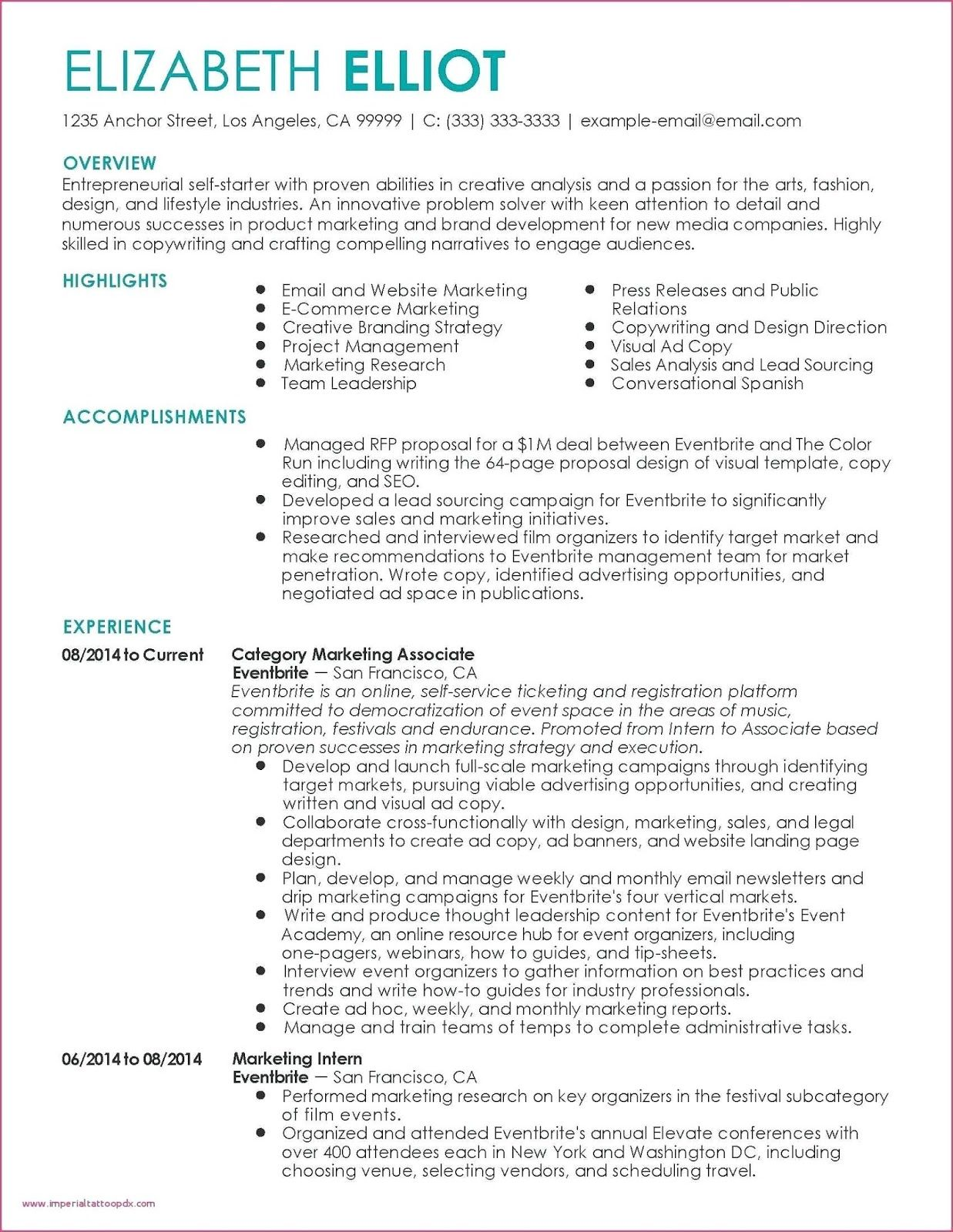 marketing manager cv example examples personal statement resume proposal templates trade Resume Trade Marketing Executive Resume