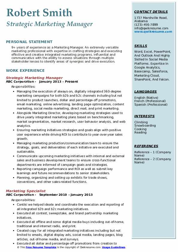 marketing manager resume samples qwikresume trade executive pdf library unsubscribe Resume Trade Marketing Executive Resume