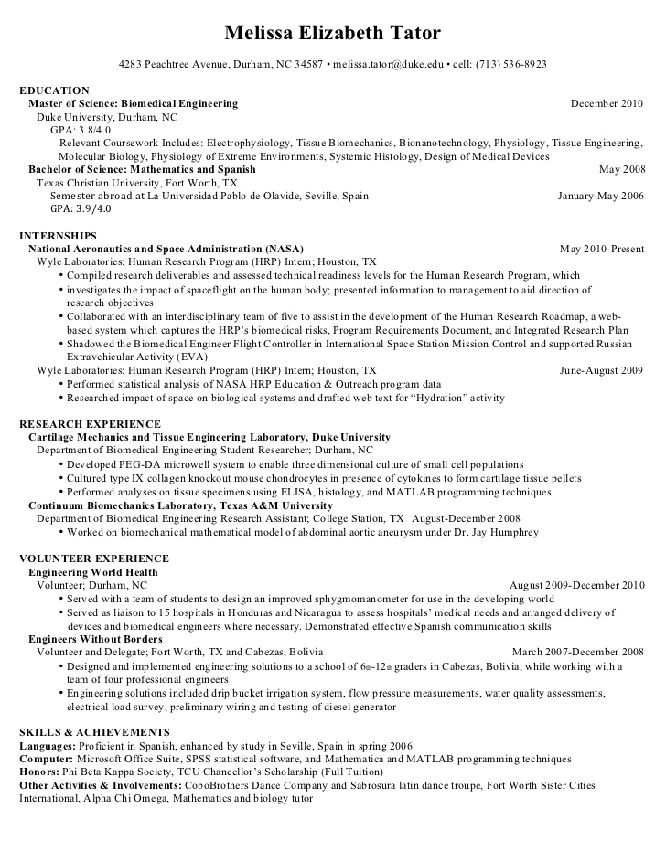 master resume engineering research for masters program classy templates format quality Resume Resume For Masters Program