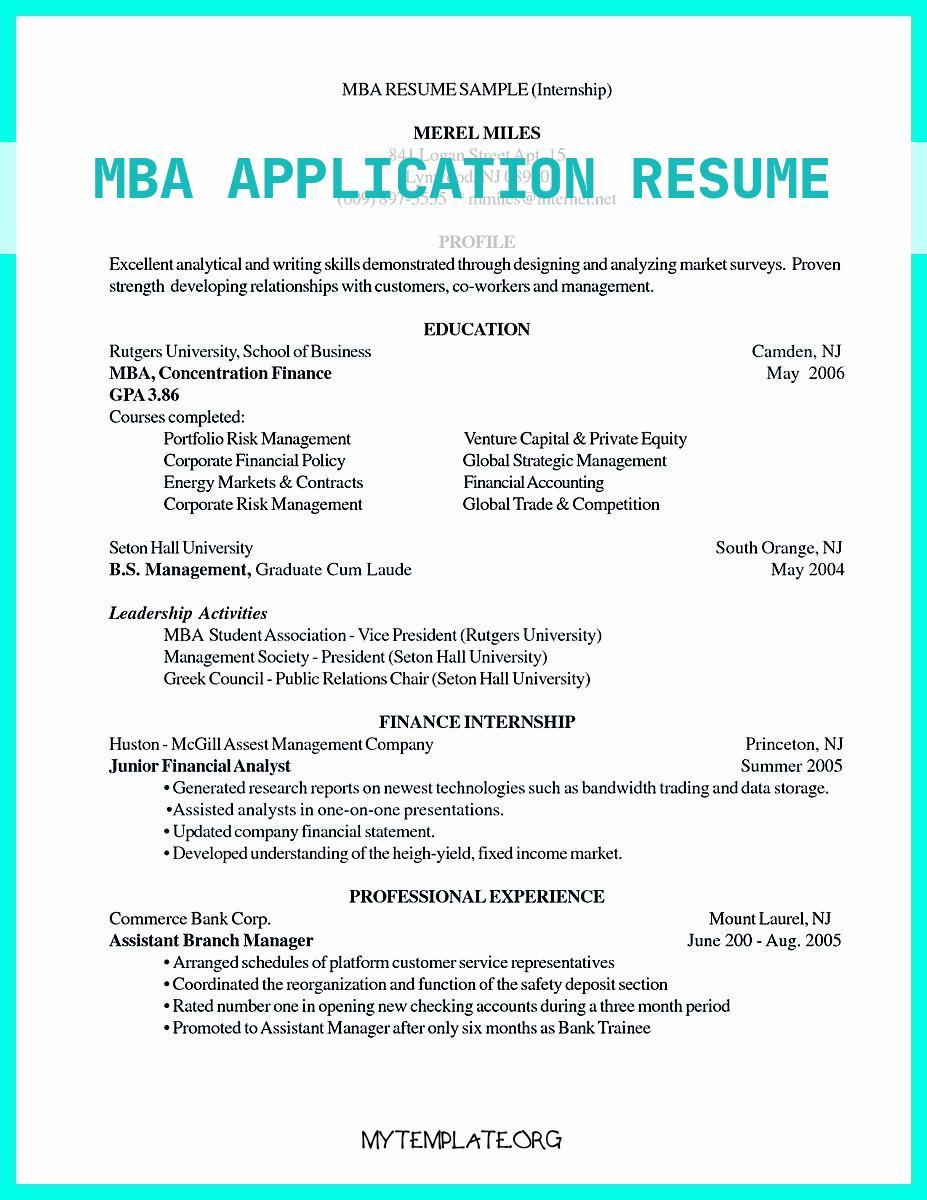 mba application resume free templates sample objective for of examples best write Resume Sample Resume Objective For Mba Application