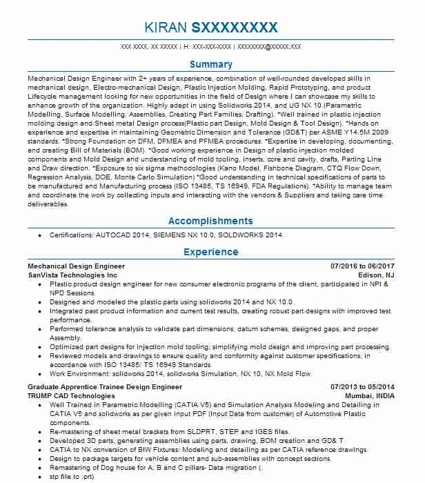 mechanical design engineer resume example livecareer word format financial consultant Resume Mechanical Design Engineer Resume Word Format