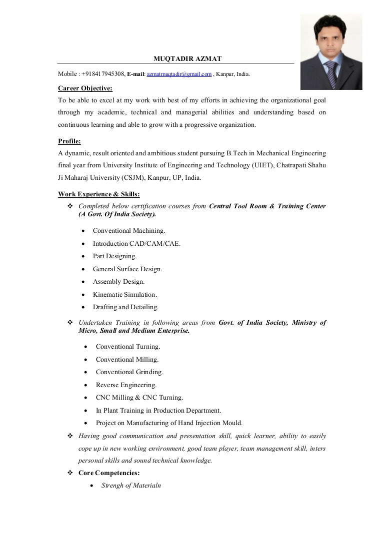 mechanical engineer cv objective for resume fresher userfile phpapp02 thumbnail writing Resume Objective For Resume For Fresher Mechanical Engineer