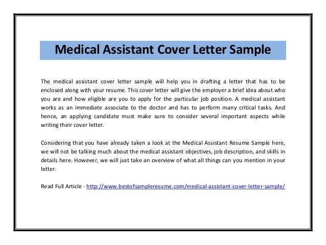 medical assistant cover letter sample pdf resume template for grad school military Resume Resume Cover Letter Template For Medical Assistant