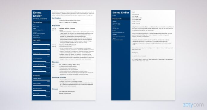 medical assistant ma cover letter sample also entry level resume template for example Resume Resume Cover Letter Template For Medical Assistant