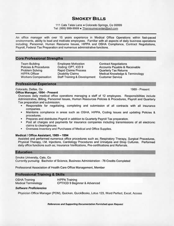 medical office manager resume example cardiology assistant sample manager7 rules for Resume Cardiology Medical Assistant Resume