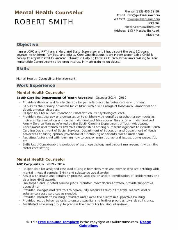 mental health counselor resume samples qwikresume therapist examples pdf of data engineer Resume Therapist Resume Examples