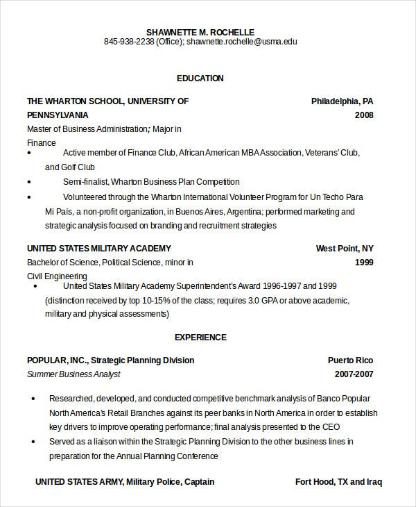 military resume free word pdf documents premium templates service on sample army cover Resume Military Service On Resume Sample