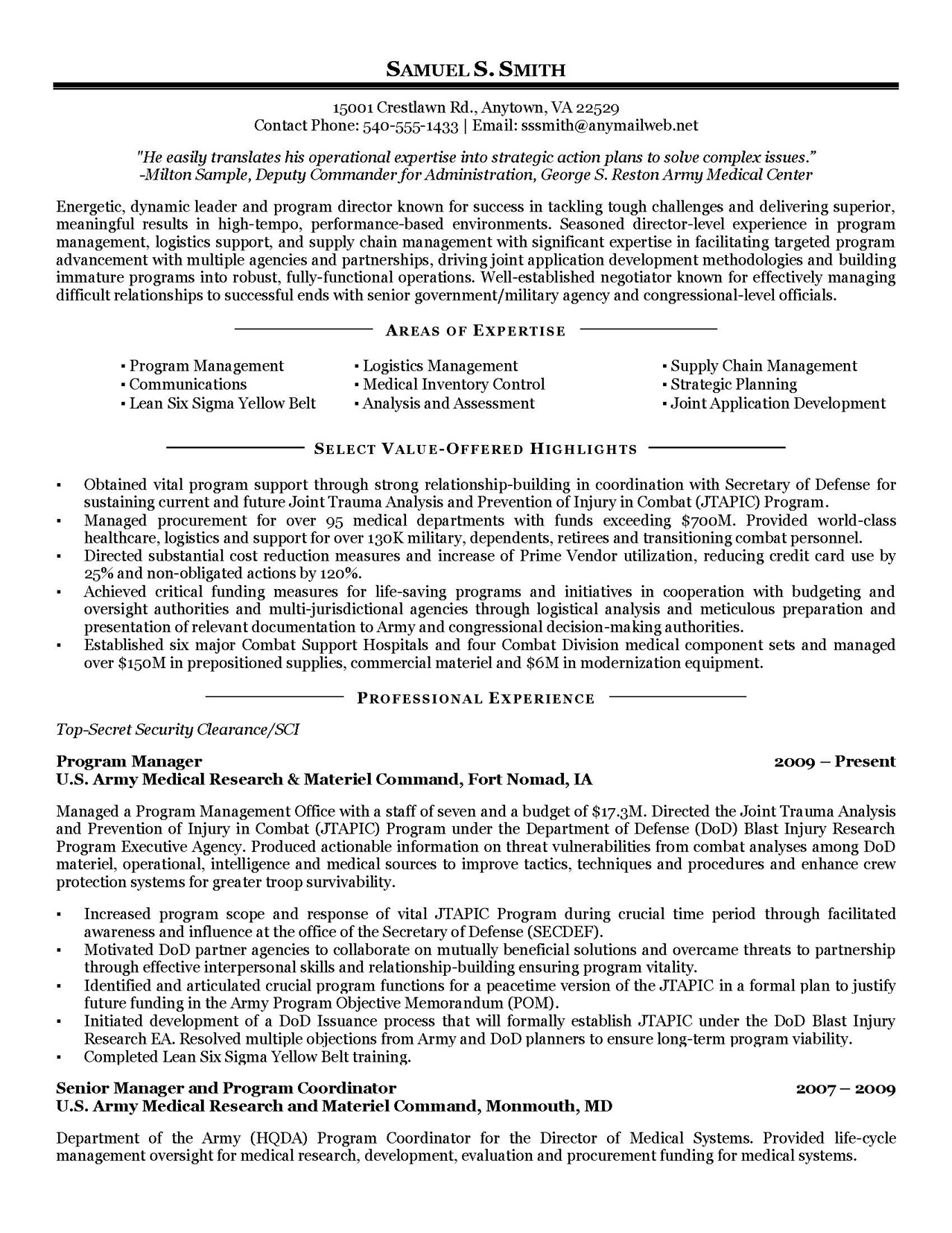 military resume samples examples writers federal writing services for veterans transition Resume Federal Resume Writing Services For Veterans