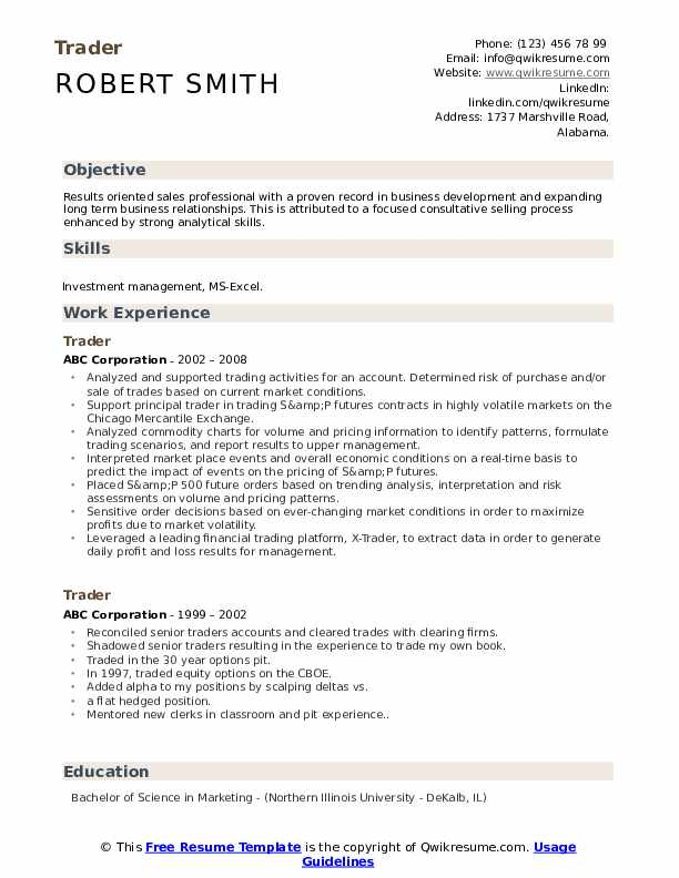 mis executive resume excel commodity trader sample without work experience help for high Resume Mis Executive Resume Excel