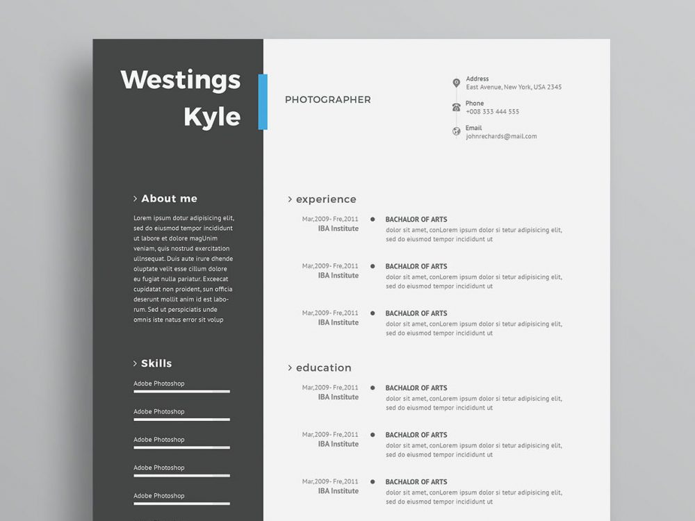 modern free resume template maxresumes layout sample cover letter for nursing teaching Resume Resume Layout Free Download
