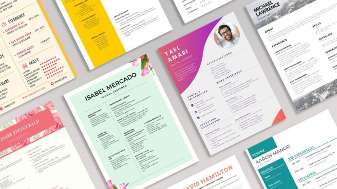 modern professional resume templates to try best designs resumes executive housekeeper Resume Best Resume Designs 2021