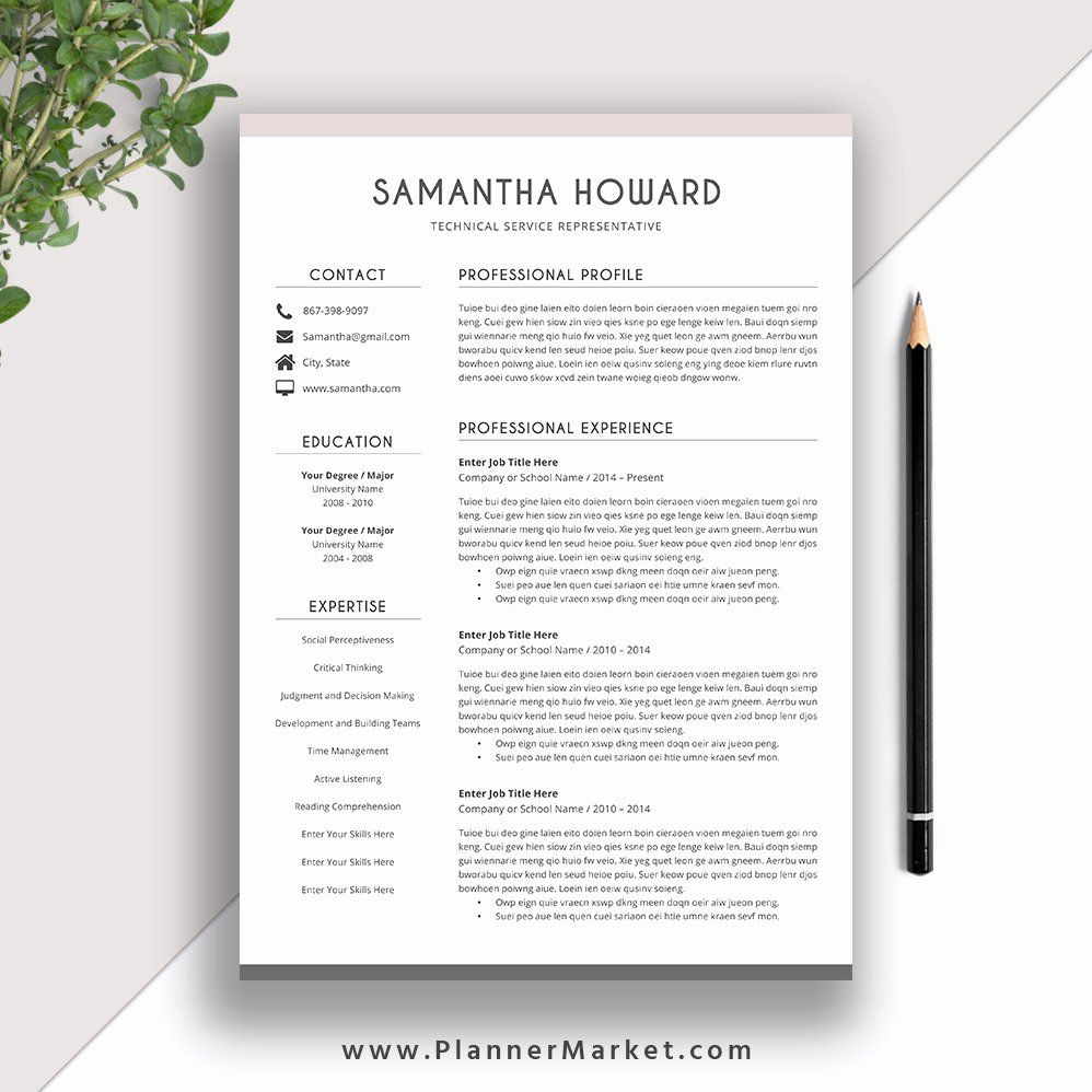 modern resume template word best of clean cover letter cv high score product analyst Resume Resume 2019 Template Word