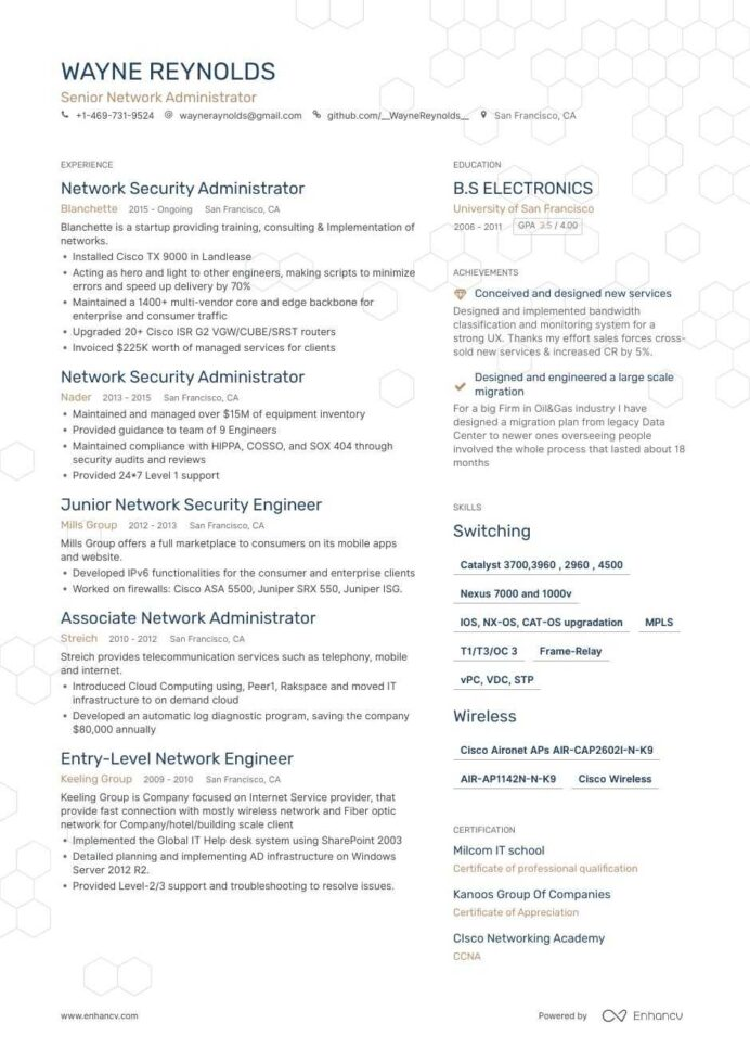 network administrator resume guide step by walkthrough with expert tips examples sample Resume Cloud Administrator Resume Sample