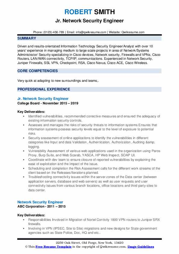 network security engineer resume samples qwikresume checkpoint firewall pdf free college Resume Checkpoint Firewall Resume