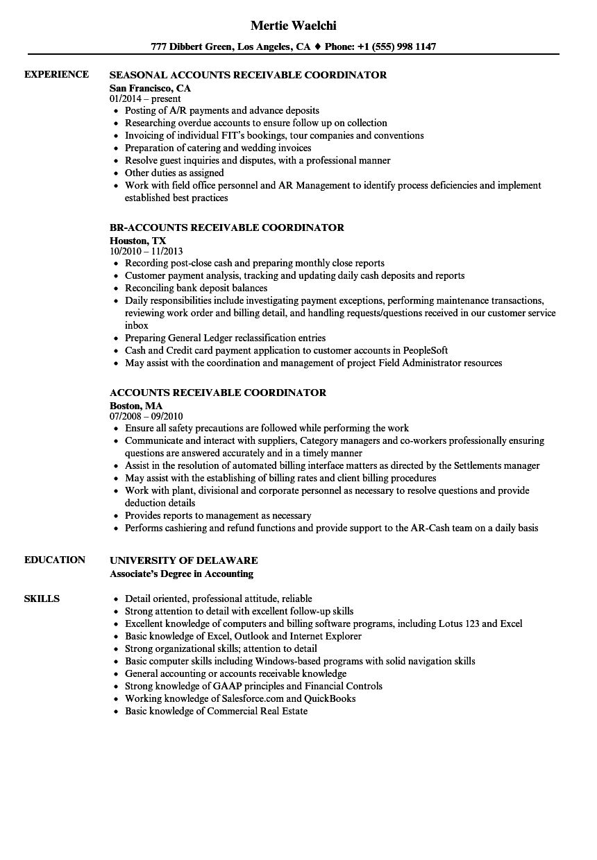 new collection of resume examples for accounts receivable manager architect objective Resume Accounts Receivable Manager Resume