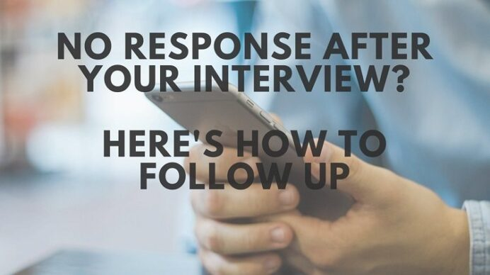 no response after an interview here to follow up by email career sidekick resume letter Resume Resume Follow Up Letter After Interview