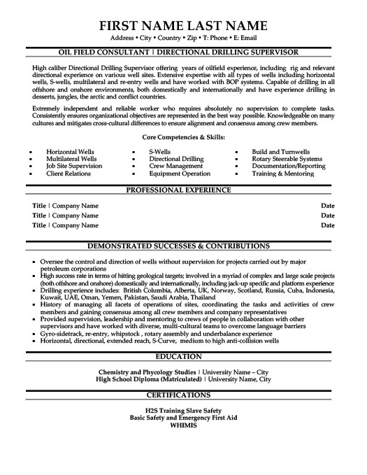 oil and gas resume templates samples examples objective for best teacher ever revenue Resume Objective For Resume Oil And Gas
