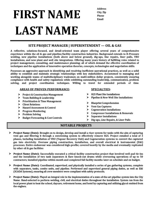 oil and gas resume templates samples examples rig template affordable housing property Resume Oil Rig Resume Template