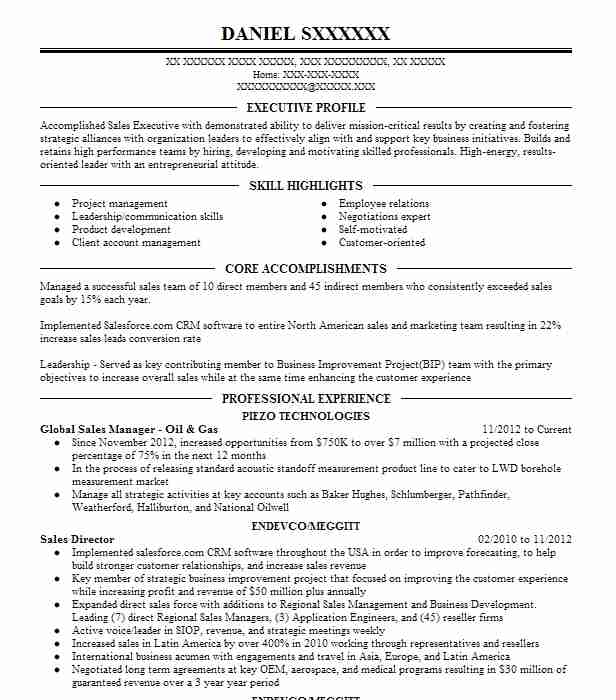 oil gas development manager resume example fastenal wylie objective for and professional Resume Objective For Resume Oil And Gas