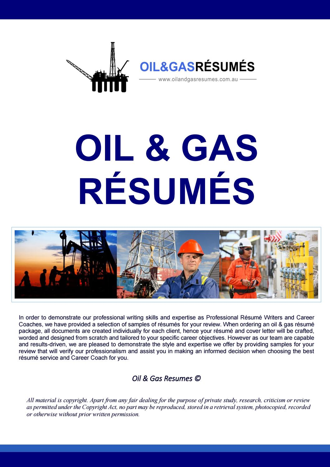 oil gas resume examples by issuu objective for and soapui testing points kfc team member Resume Objective For Resume Oil And Gas