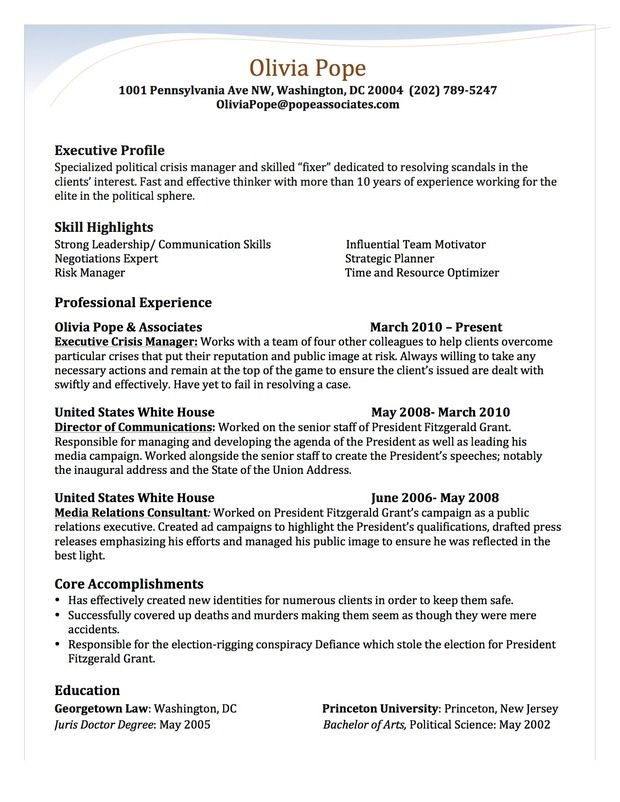 olivia resume by stephanie saccente of san diego state university free builder template Resume Georgetown Resume Template