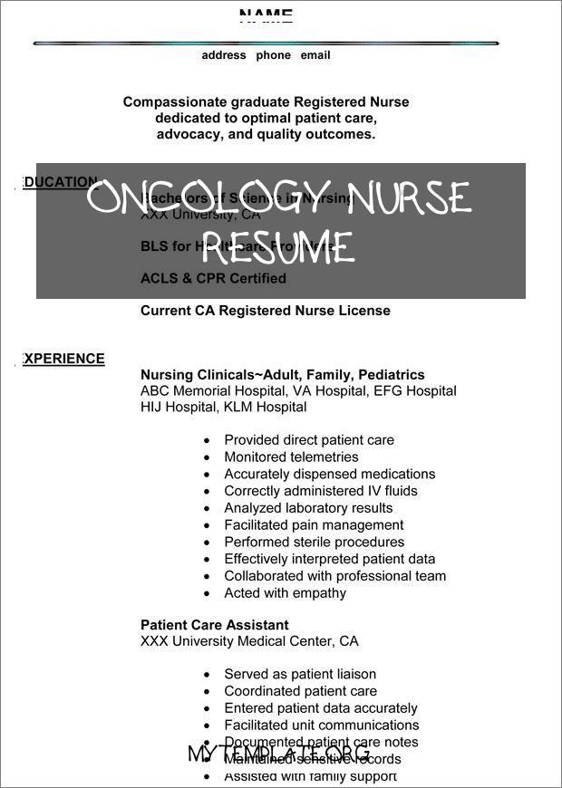 oncology nurse resume free templates objective of best gifts for pin healthcare Resume Oncology Nurse Resume Objective