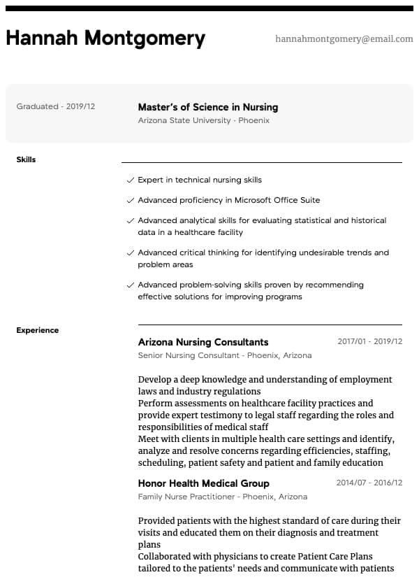 oncology nurse resume samples all experience levels objective nurseconsultant thumbnail Resume Oncology Nurse Resume Objective