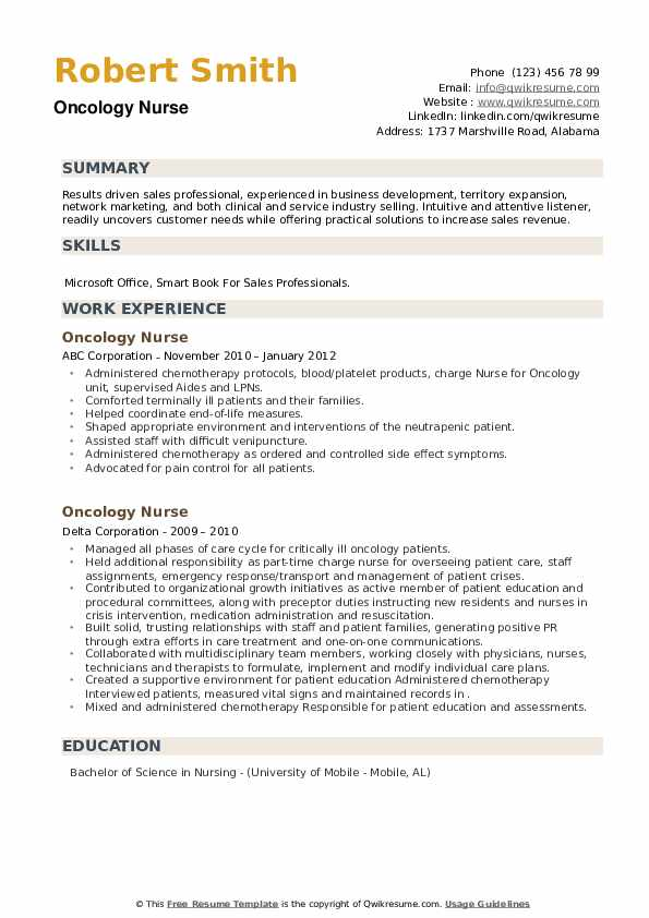 oncology nurse resume samples qwikresume objective pdf ceo template word free crisis Resume Oncology Nurse Resume Objective