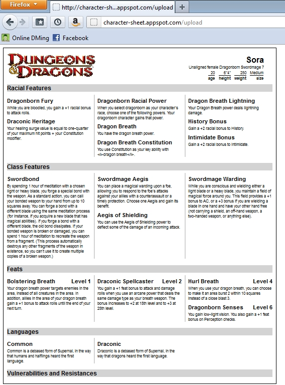 one character sheet free tool dungeon master resume divide0 sample for agricultural Resume D&d Character Sheet Resume