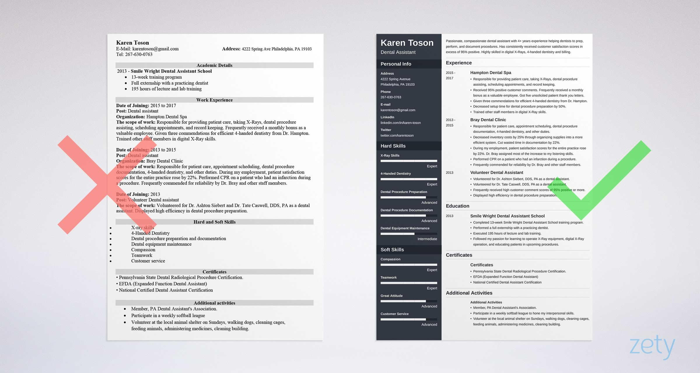 one resume templates examples of format microsoft word template hospital job objective Resume Microsoft Word One Page Resume Template