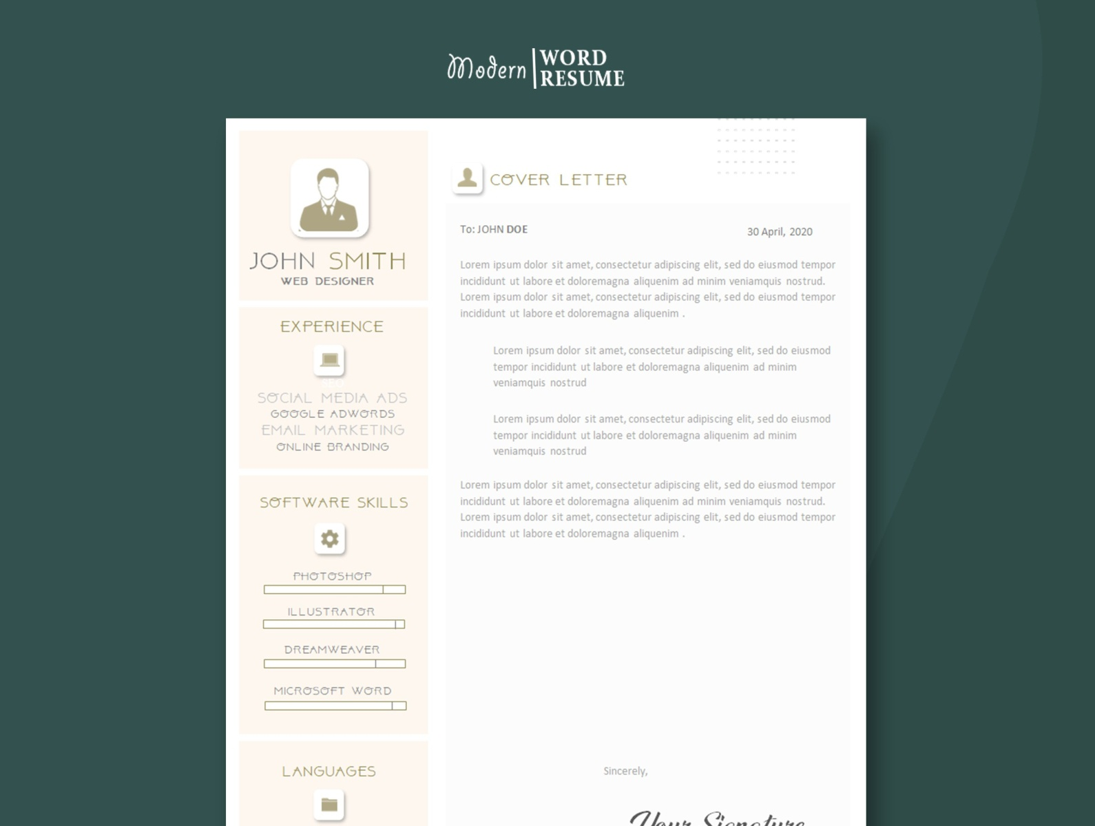 one resume word template microsoft hospital job objective outsourcing creative and Resume Microsoft Word One Page Resume Template