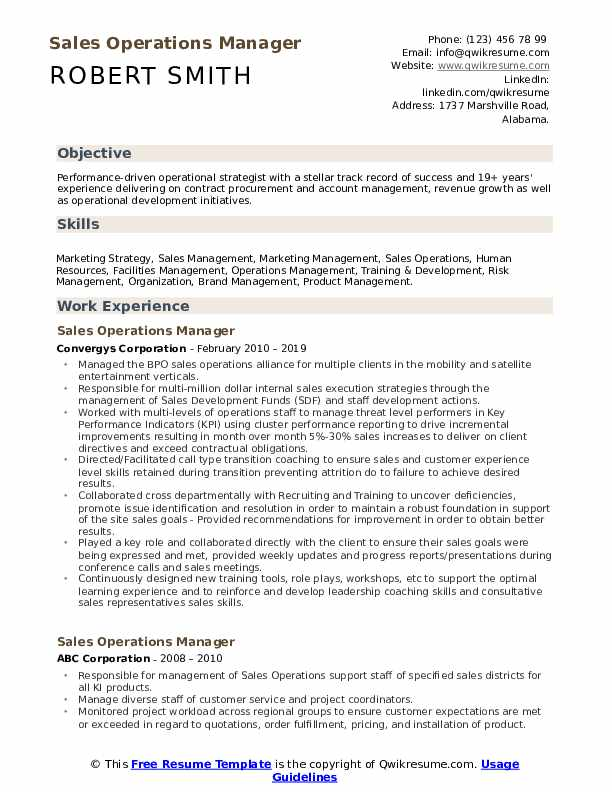operations manager resume samples qwikresume pdf church ministry templates hospice Resume Operations Manager Resume