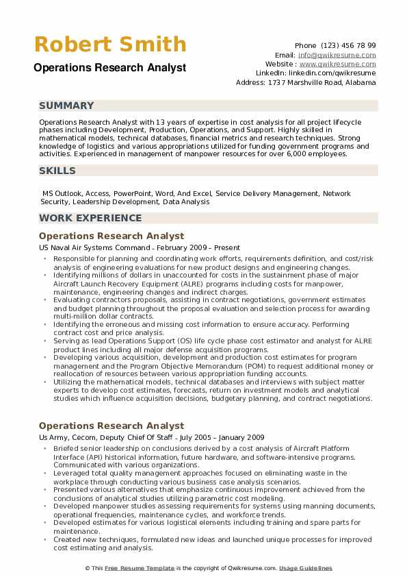 operations research analyst resume samples qwikresume sample with metrics pdf furniture Resume Sample Resume With Metrics