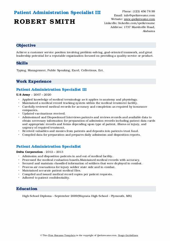 patient administration specialist resume samples qwikresume pdf clinical researcher Resume Patient Administration Specialist Resume
