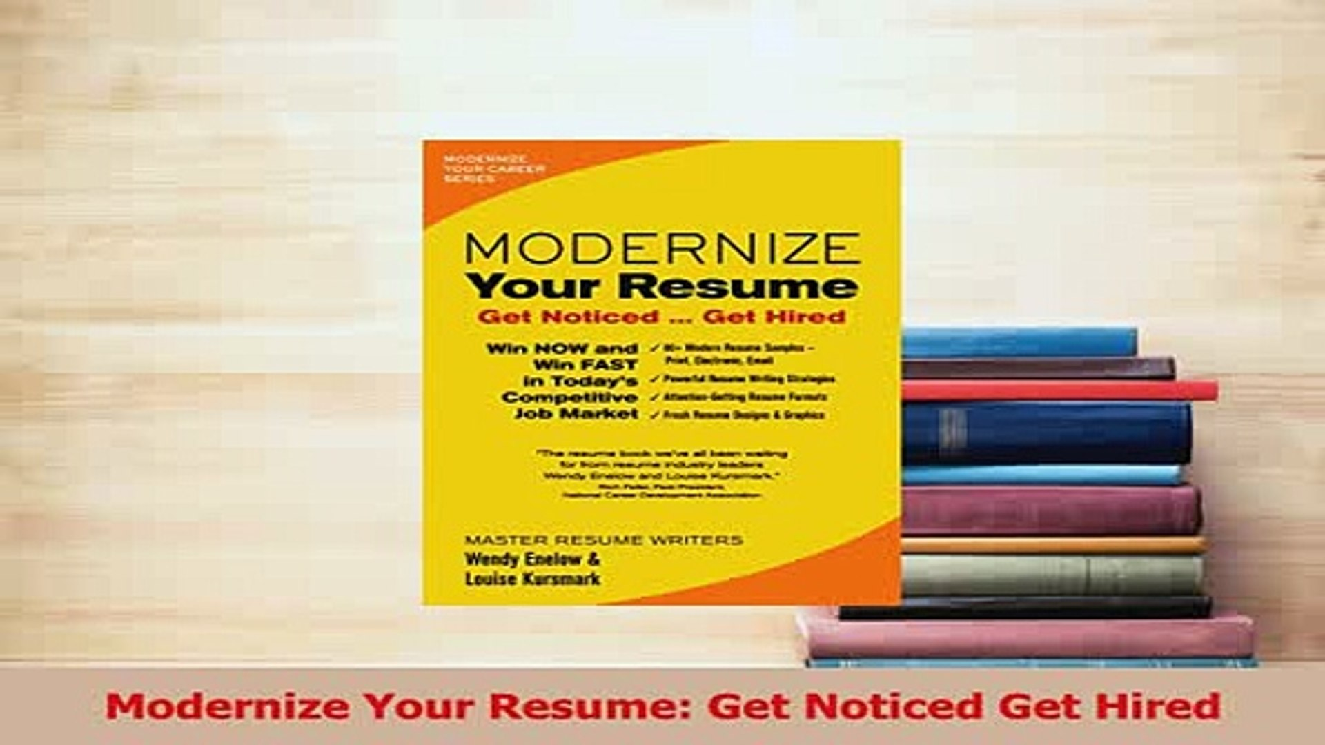 pdf modernize your resume get noticed hired full ebook dailymotion software for mac Resume Modernize Your Resume Get Noticed Get Hired